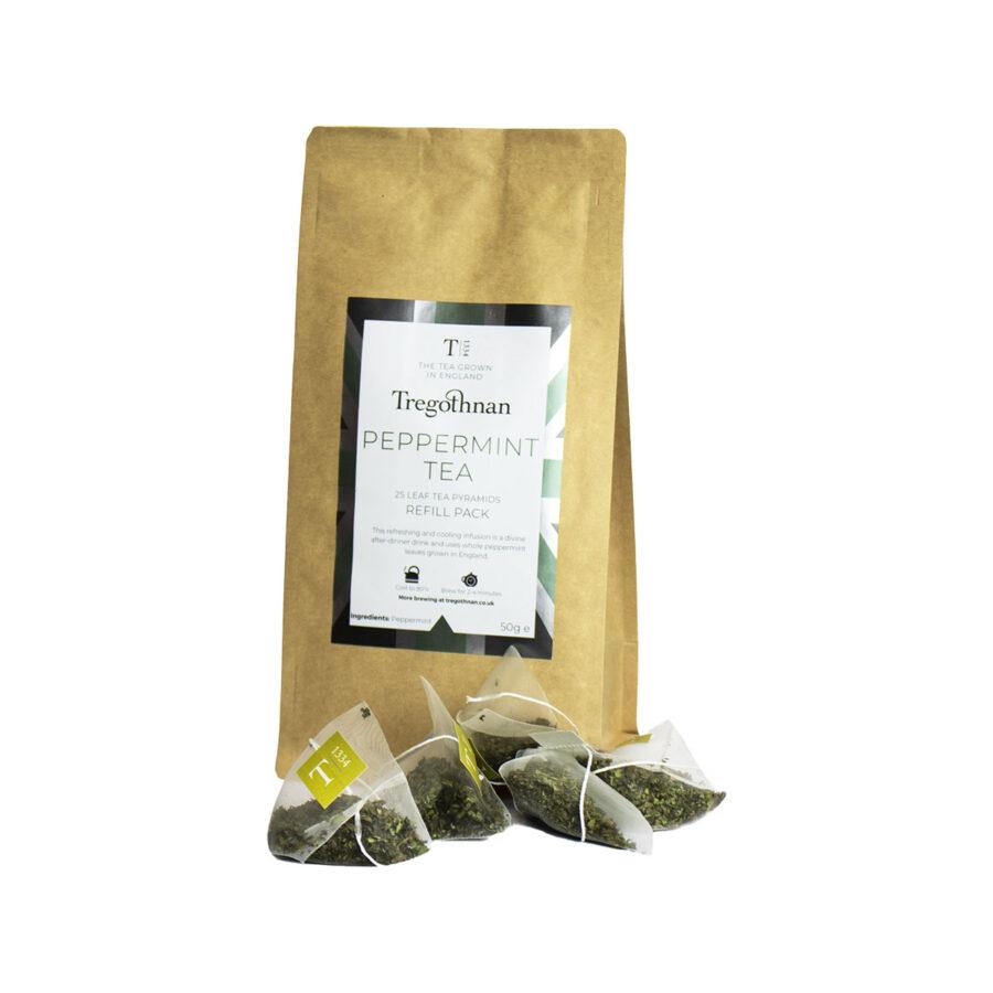Tregothnan Peppermint 25 Loose Leaf Pyramid Refill