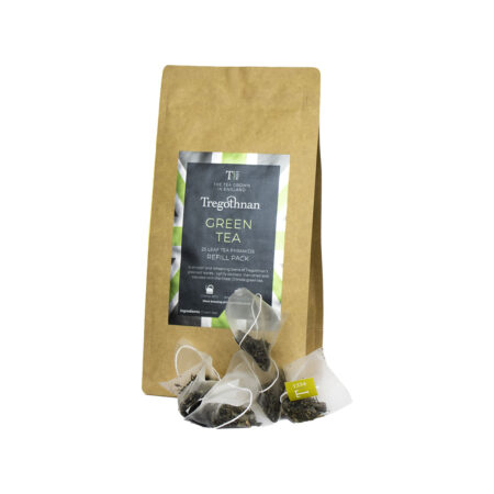 Tregothnan Green Tea 25 Loose Leaf Pyramid Refill