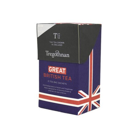 Tregothnan Great British Tea 21 Sachet Box