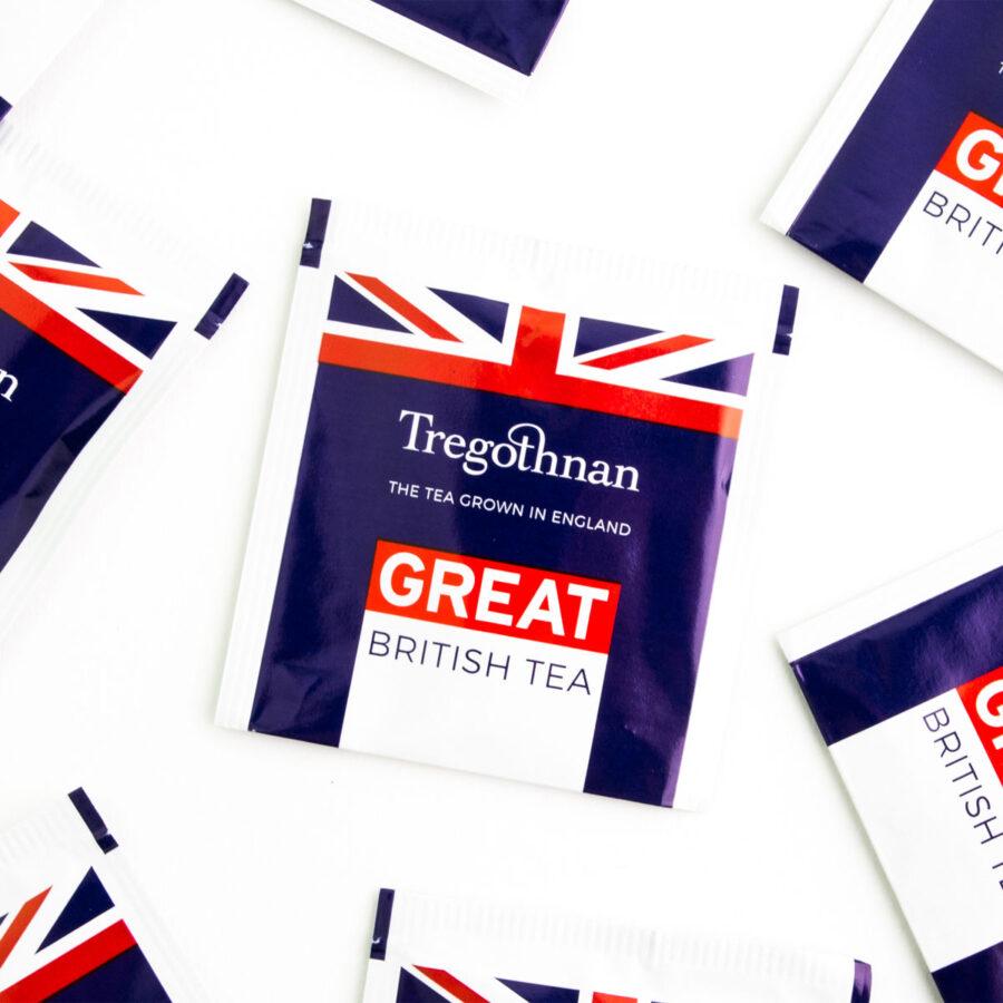 Tregothnan Great British Tea 21 Sachet Box