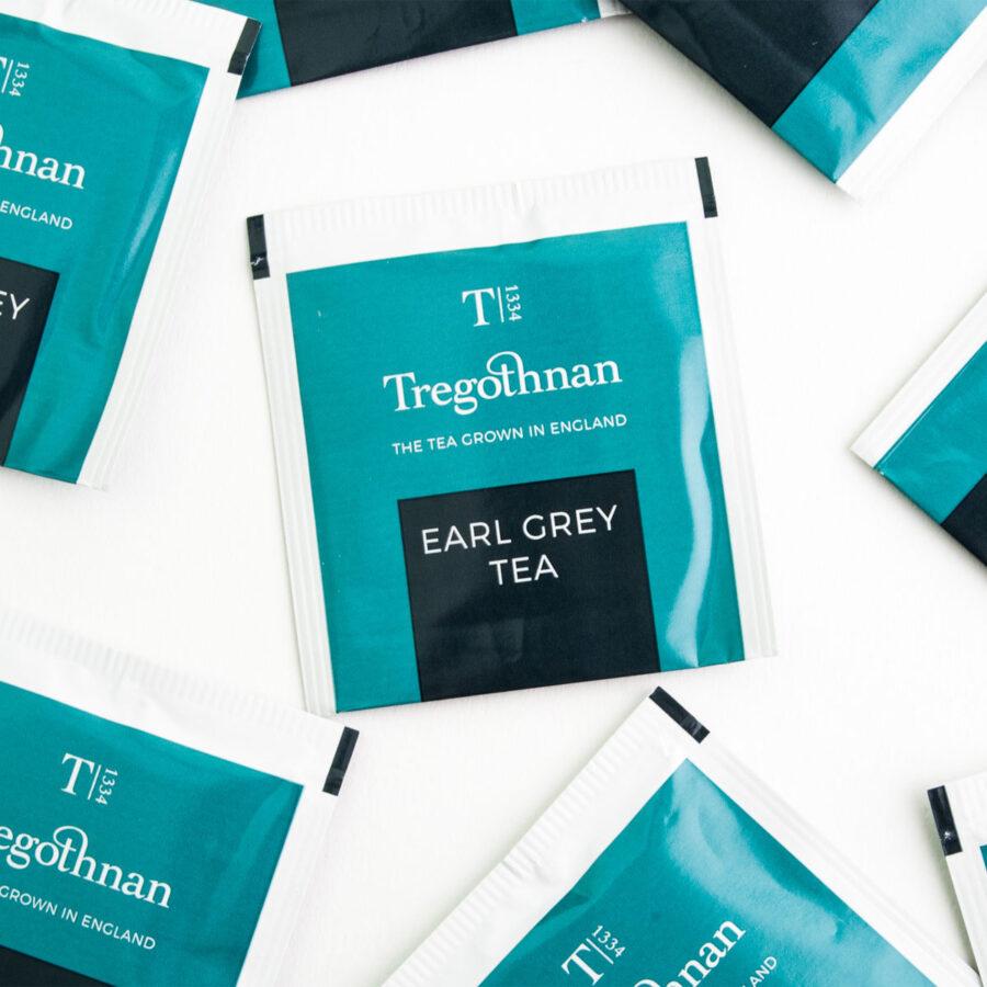 Tregothnan Earl Grey Tea 21 Sachet Box