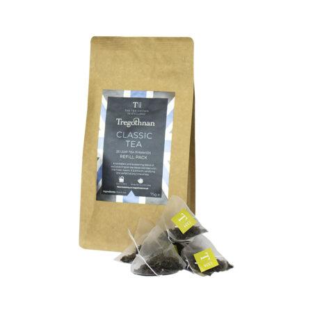 Tregothnan Classic Tea 25 Loose Leaf Pyramid Refill