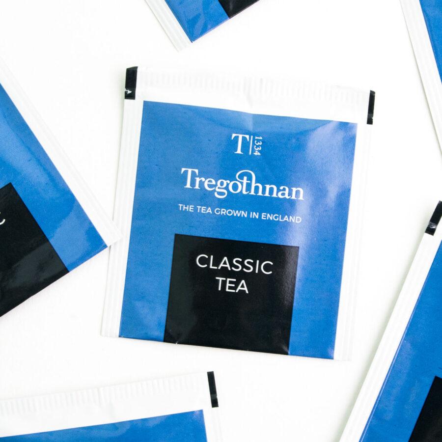 Tregothnan Classic Tea 21 Sachet Box