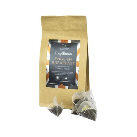 Tregothnan Breakfast Tea 25 Loose Tea Pyramid Refill