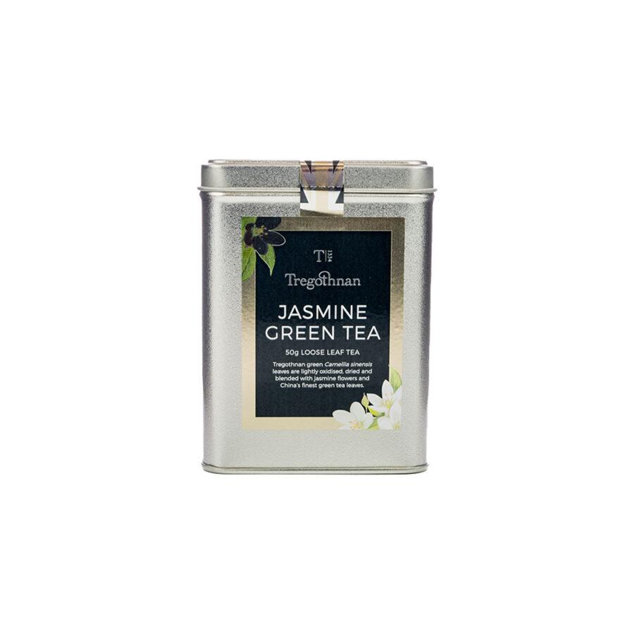 Tregothnan Jasmine Green Tea Loose Leaf Tin 50 Caddy